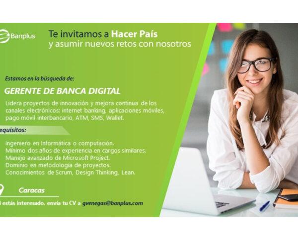 20201014 Vacante Gerente de Banca Digital Blog 600x490 - Buscamos Gerente de Banca Digital | Octubre, 2020