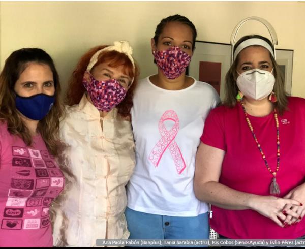 Obra La Cuarentena SenosAyuda Blog 600x490 - Concientización sobre cáncer de mama | En Banplus contribuimos con la meta rosada de SenosAyuda