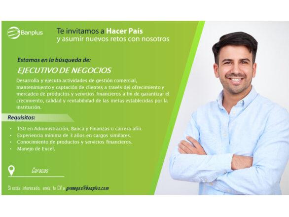 20201126 Vacante Ejecutivo de Negocios Blog 586x440 - Buscamos Ejecutivo de Negocios | Noviembre, 2020