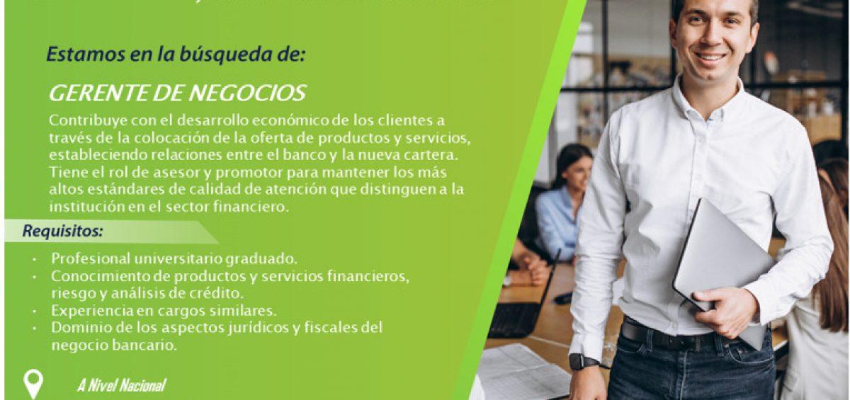 20201126 Vacante Gerente de Negocios Blog 1200x565 - Buscamos Gerente de Negocios | Noviembre, 2020