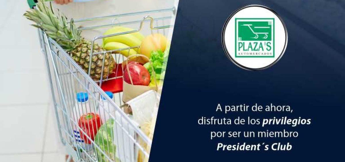 Cabecero Automercados El Plaza 1200x565 - Conoce nueva alianza con supermercado | Exclusivo para President's Club