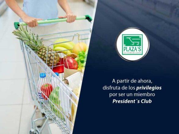 Cabecero Automercados El Plaza 586x440 - Conoce nueva alianza con supermercado | Exclusivo para President's Club
