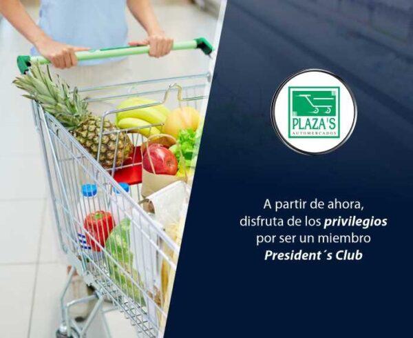 Cabecero Automercados El Plaza 600x490 - Conoce nueva alianza con supermercado | Exclusivo para President's Club