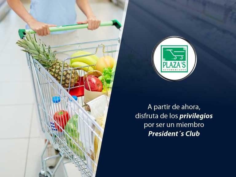 Cabecero Automercados El Plaza 768x576 - Conoce nueva alianza con supermercado | Exclusivo para President's Club