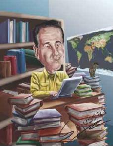 Seudonimos de la historia Ilustracion Jon A Blog - #QuédateEnCasa y disfruta una buena lectura: Seudónimos en la historia | Ediciones Banplus