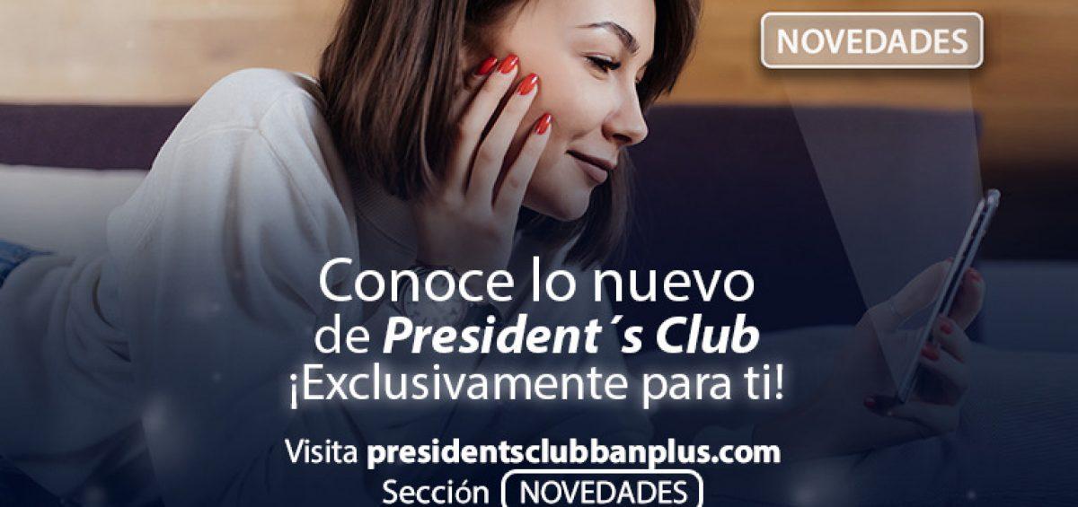 BANNER BLOG NOVEDADES 1200x565 - Entérate de todas las Novedades que te ofrece President's Club  | Nueva sección web
