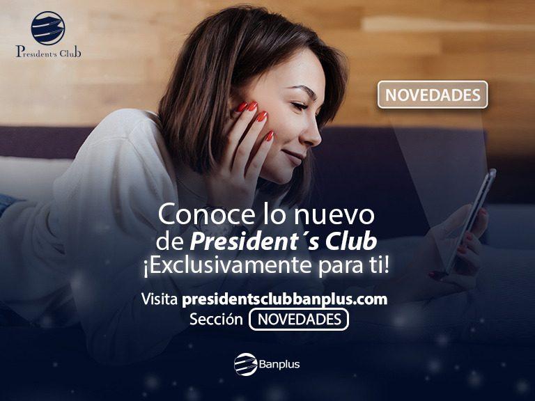 BANNER BLOG NOVEDADES 768x576 - Entérate de todas las Novedades que te ofrece President's Club  | Nueva sección web
