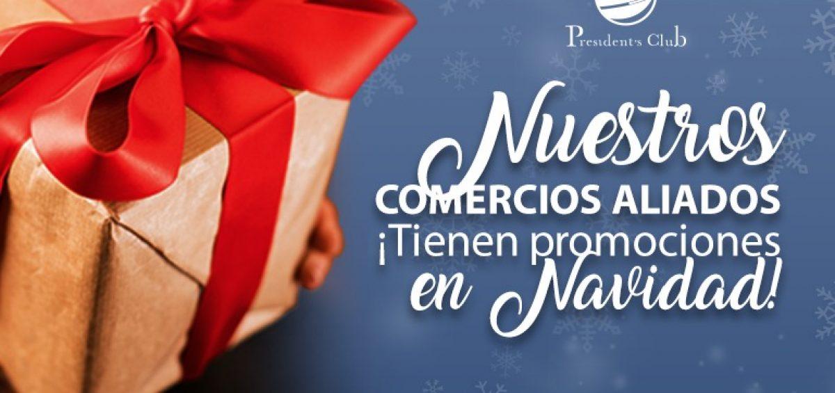 Boletin Navidad 1200x565 - Exclusivas alianzas de President's Club en Navidad | Nº 4