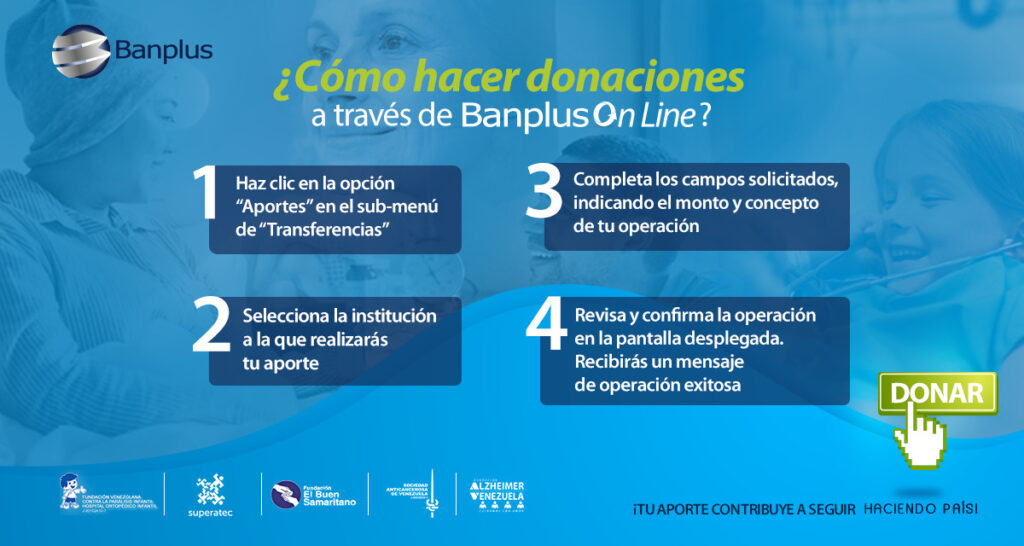 FB BOTON DE DONACIONES 1024x546 - Solidaridad | Impulsemos vidas a través de un clic: Fundación Venezolana Contra la Parálisis Infantil