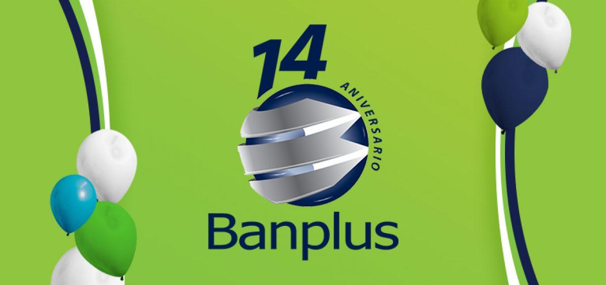 Blog Aniversario Banplus 1200x565 - Estamos de Aniversario   Banplus: 14 años de innovación y soluciones