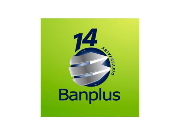 Logotema 14 Aniversario Banplus Blog 1 586x440 - Estamos de Aniversario | Banplus: 14 años de innovación y soluciones