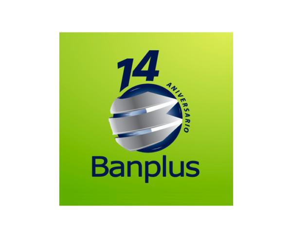 Logotema 14 Aniversario Banplus Blog 1 600x490 - Estamos de Aniversario | Banplus: 14 años de innovación y soluciones