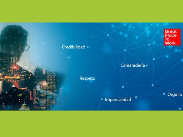 Dimensiones GPTW. Destacada en blog 586x440 - Certificación GPTW | En el ambiente de Banplus destacan el respeto y la camaradería