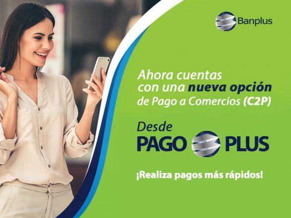 Banplus Pay C2P Blog 586x440 - Ahora nuestros clientes Banplus pueden hacer pagos a Comercios con C2P