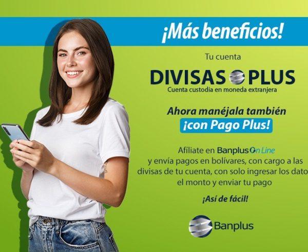 Blog Pago Plus Fase I WhatsApp Image 2021 08 05 at 10.11.57 AM 600x490 - Novedades   Pago Plus: ¡Ahora con cargo a tu cuenta en divisas!