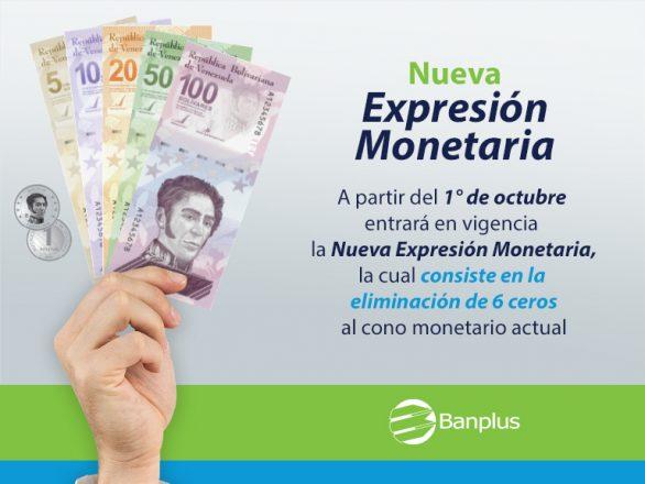 Blog Reconversion Monetaria 3 586x440 - Nos preparamos hacia la Nueva Expresión Monetaria | 1ero de octubre de 2021